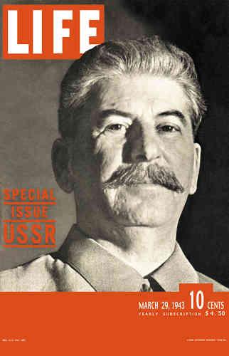 1943. Numéro spécial consacré à Staline, l'allié soviétique