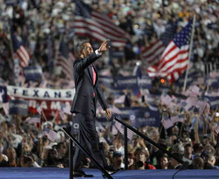 Barack Obama, le 29 août à Denver.
