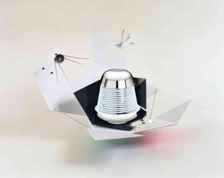 La lampe Constantia imaginée par Alexandre Huin (ENSAD Paris) pour Christofle.