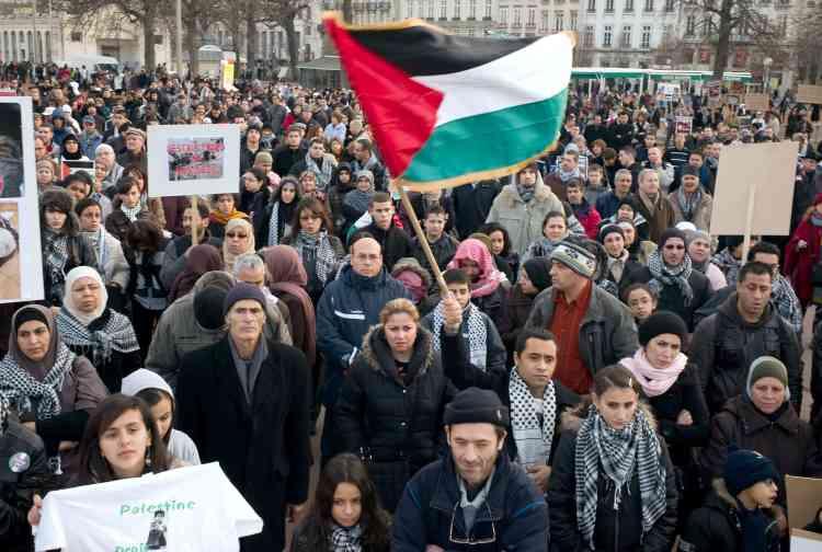 Lyon. Nouvelles manifestations de soutien aux Palestiniens en Europe.