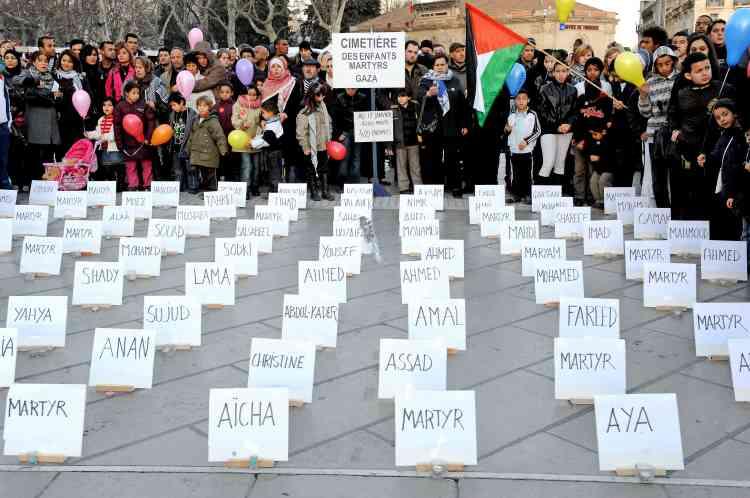 Montpellier Nouvelles manifestations de soutien aux Palestiniens en Europe.