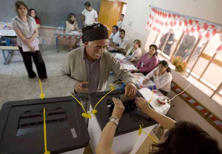 Elections générales au Kurdistan irakien, le 25 juillet.