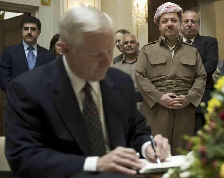 Le secrétaire américain à la Défense, Robert Gates, a annoncé que Les Etats-Unis pourraient accélérer leur désengagement d'Irak.