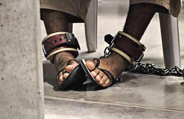 """Michelle Shephard / Reuters           Avril 2011WikiLeaks publie  des documents secrets de la prison américaine  de Guantanamo, en partenariat avec une dizaine de journaux (dont """"Le Monde"""")."""