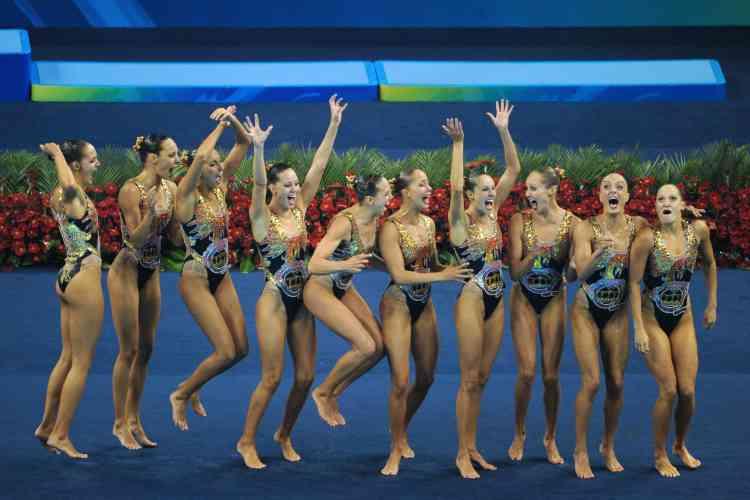 Grosse surprise pour la troisième place puisque le Canada séduit pour emporter un bronze inattendu. Au plus grand bonheur des coéquipières de Marie-Pier Boudreau-Gagnon.