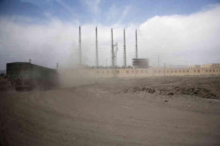 Usine de traitement de terres rares de l'entreprise d'État Baogang