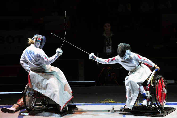 TO GO WITH AFP STORIES ON PARALYMPICS