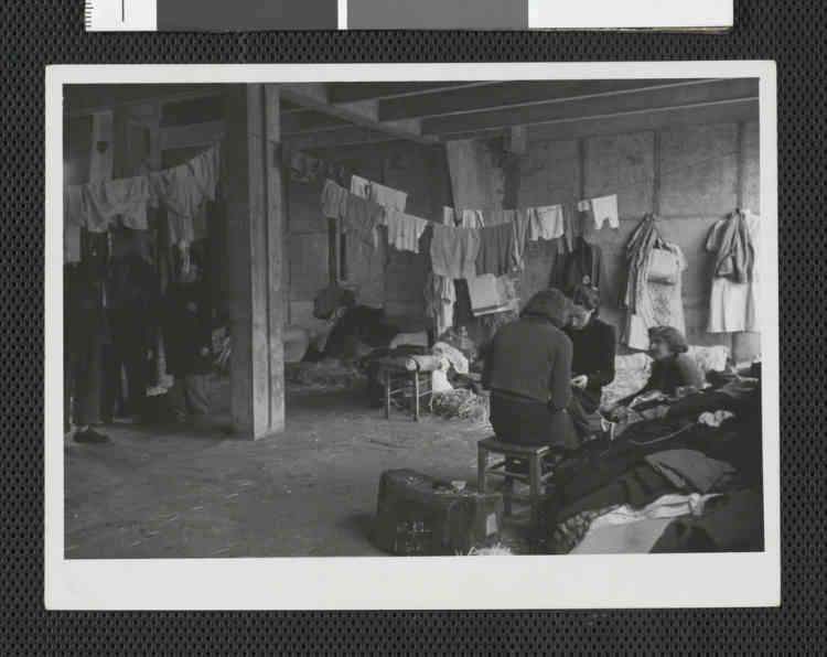 Chambrées du camp de Drancy, 1941-1944.