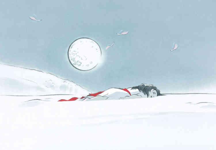 """Le Conte de la princesse Kaguya"", d'Isao Takahata."