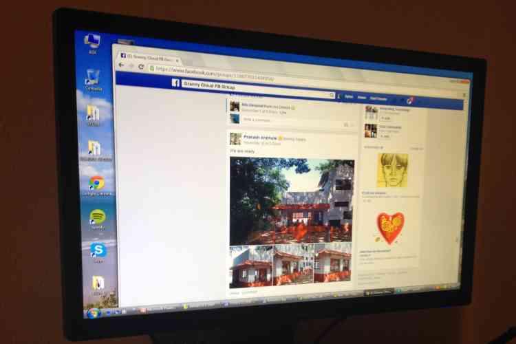 """Après chaque session à distance, le ou la """"granny"""" remplit un compte rendu analysé par l'équipe universitaire. Ce matériau est accessible à la communauté  d'une centaine de  «grannies» de tous âges et de onze nationalités  qui échangent sur une page Facebook privée."""
