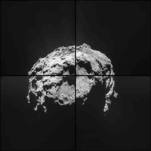 Il est 5 h 32, heure de Paris, samedi 14 février : Rosetta a entamé son approche de la comète Tchouri, encore distante de 35 km. Elle la frôlera dans un peu plus de huit heures, à 6 km de distance.