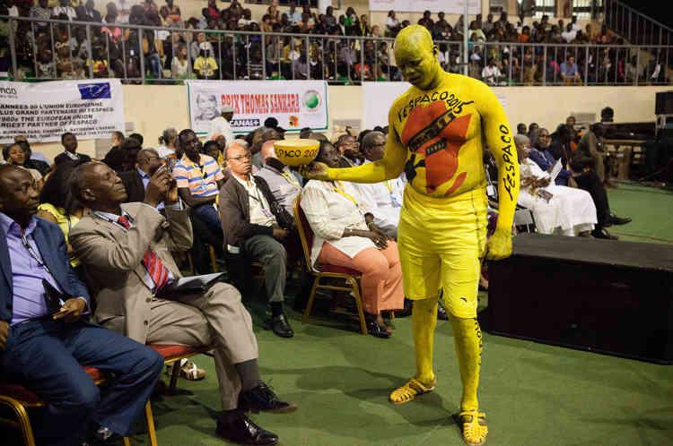 Cérémonie d'ouverture du Fespaco à Ouagadougou, le 28 février.