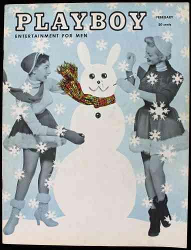 En février 1955, c'est Jayne Mansfield qui est à l'honneur, dans un numéro à l'ambiance bon enfant.