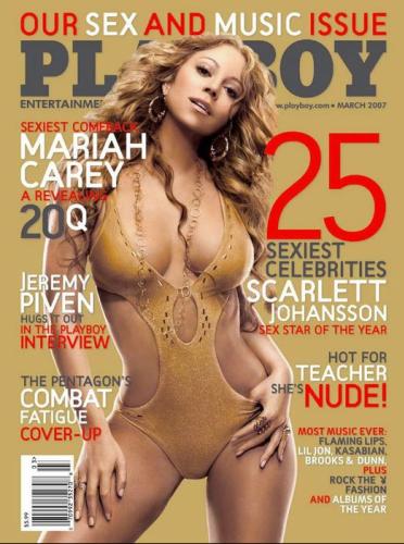 Mariah Carey, en mars 2007.