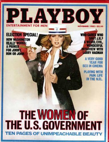 En novembre 1980, pendant le mois d'élection qui verra Ronald Reagan accéder à la présidence des Etats-Unis, le magazine publie les photos d'une dizaine de jeunes femmes travaillant dans l'administration fédérale. La publication sera grandement critiquée par le