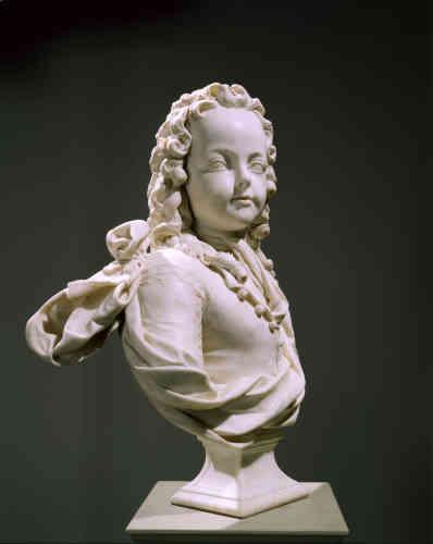 Portrait de Louis XV, arrière petit-fils de Louis XIV, qui lui succéda à l'âge de six ans.