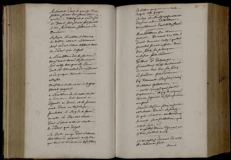 L'autopsie et l'embaumement furent pratiqués le 2 septembre 1715, au lendemain de sa mort. Le temps pressait tant le corps entier pris par la gangrène était en décomposition.