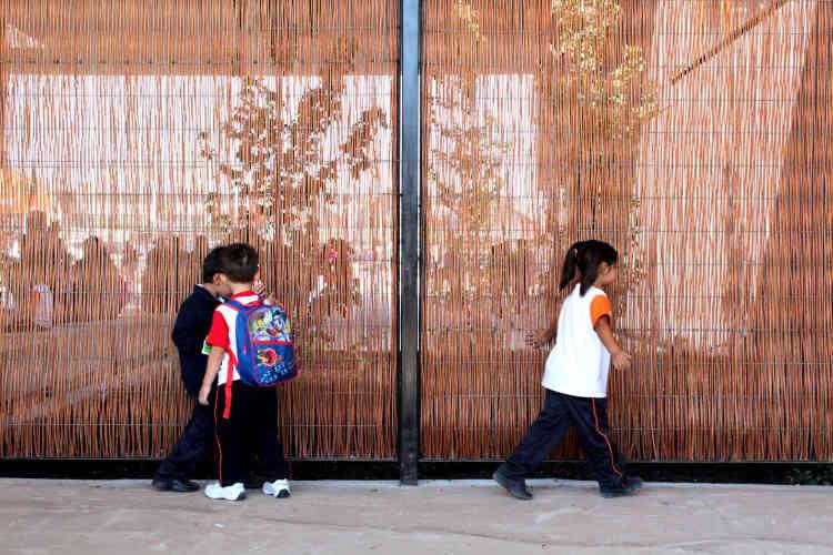L'école Ayelén à Rancagua (Chili).