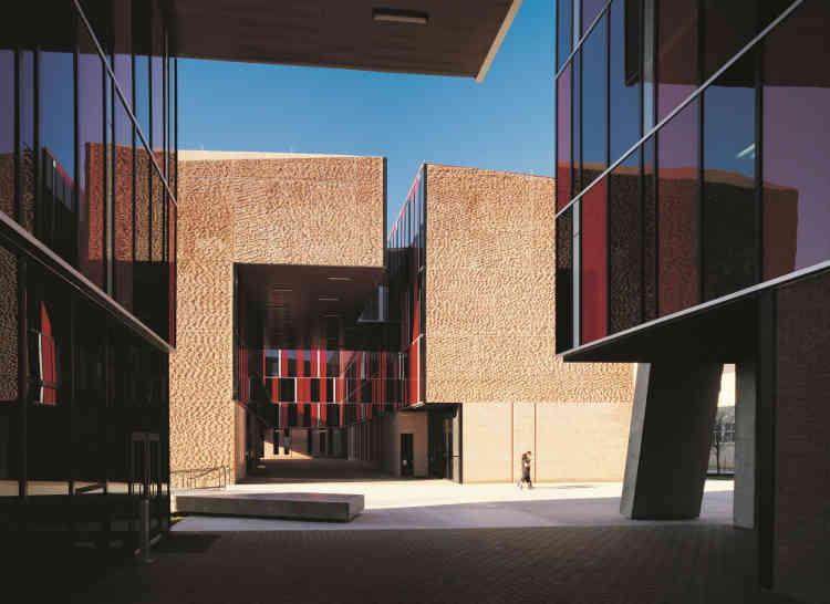Résidence étudiante de l'université St. Edward, Austin (Texas).