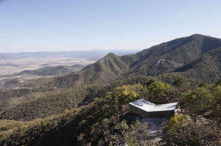 Point de vue de Las Cruces, Jalisco (Mexique).