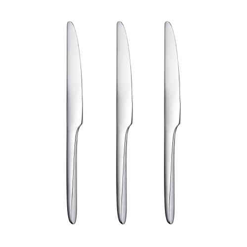 Couteaux en acier du service de couverts L'âme pour Christofle, 2014 (30 euros pièce).
