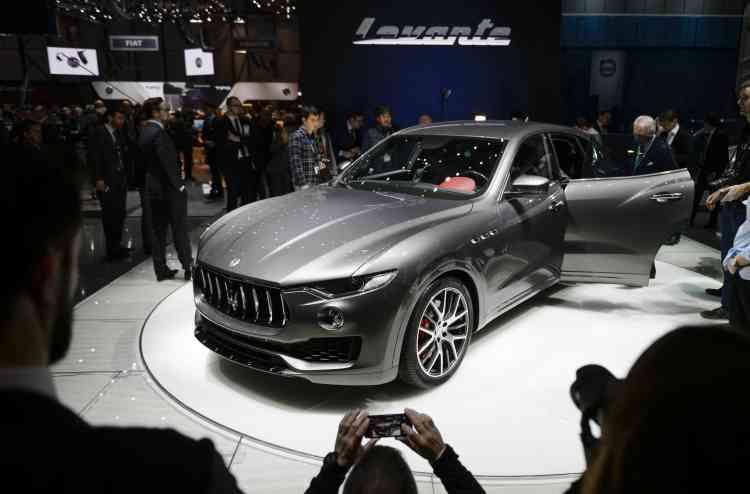 Dans le segment très convoité des SUV, Maserati fait une entrée remarqué avec le Levante.