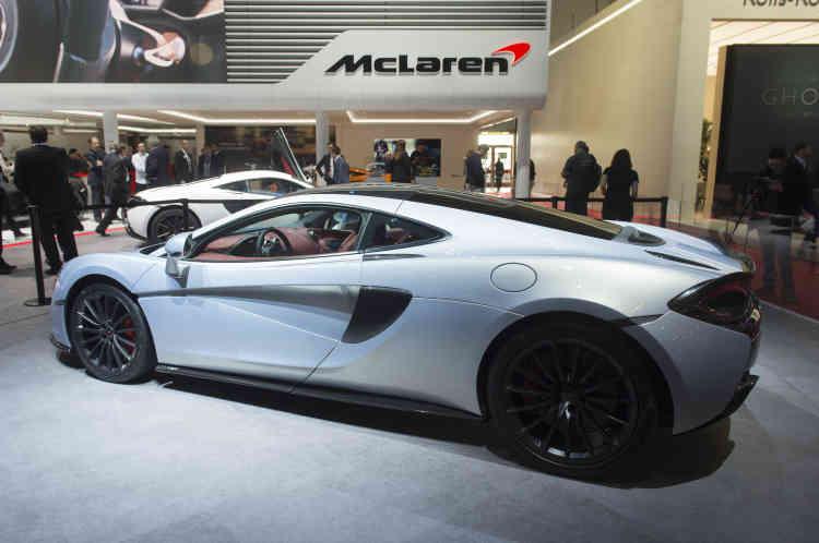 McLaren a dévoilé à Genève sa 570GT.