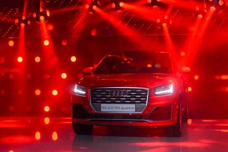 L'Audi Q2 témoigne encore, s'il le fallait, du dynamisme du segment des SUV : en quelques années, ils se sont imposés au point de représenter désormais plus de 20 % du marché.