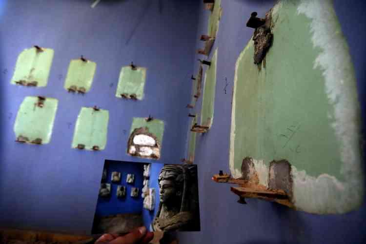Le Musée national avait été transformé en tribunal religieux et a subi de nombreux vandalismes.