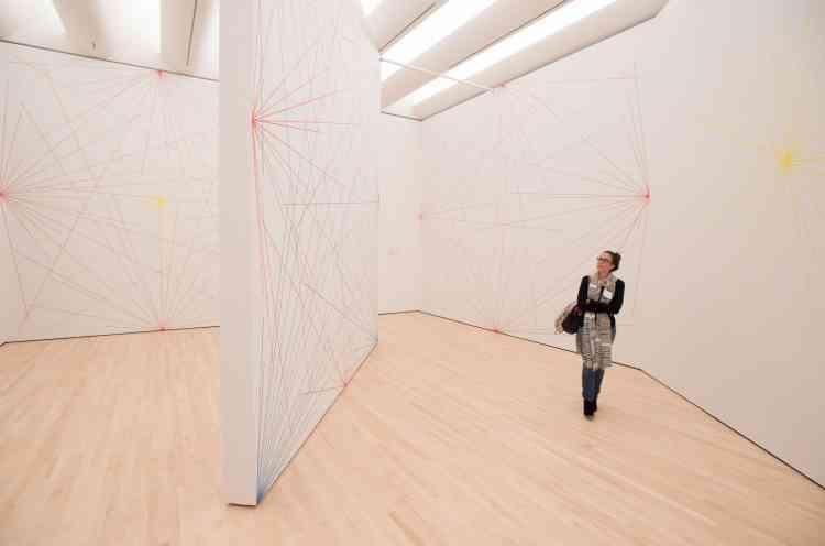 Le SFMOMA revendique le plus large espace d'exposition d'art moderne des Etats-Unis, avec presque 16 000 mètres carrés de galeries.