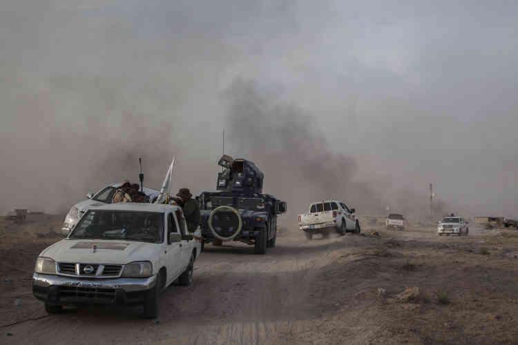 Le Conseil norvégien pour les réfugiés (NRC) estime qu'il y a encore environ 50000 personnes dans cette ville conquise par l'EI en janvier 2014, avant même l'offensive fulgurante en juin de la même année qui a permis aux djihadistes de s'emparer de vastes territoires au nord et à l'ouest de Bagdad.