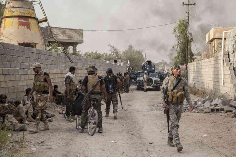 Le bastion sunnite de Fallouja est aux mains de l'organisation Etat islamique depuis deux ans.