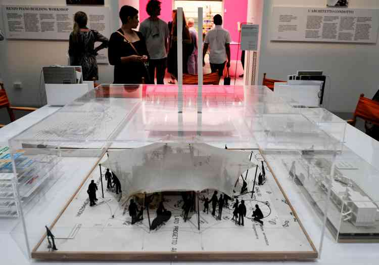 Les architectes stars sont également représentés– comme l'Italien Renzo Piano.