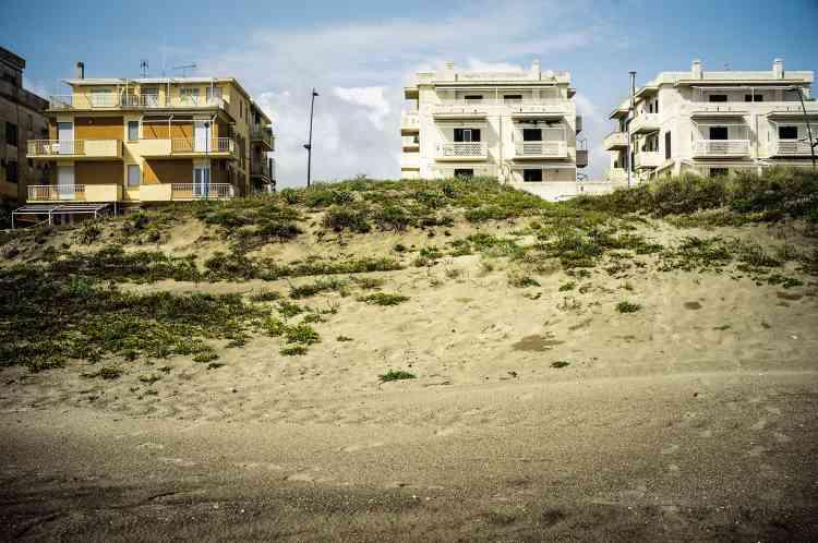 La plage du Lido.