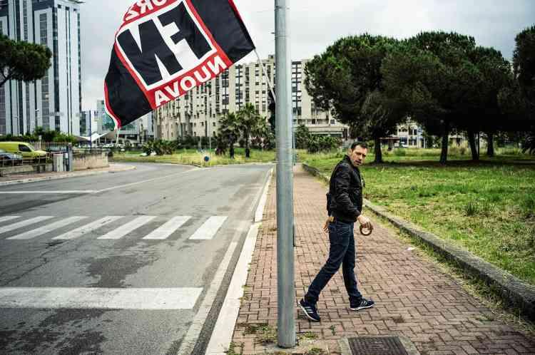 Le parti d'extrême droite Forza Nuova prospère à Latina.