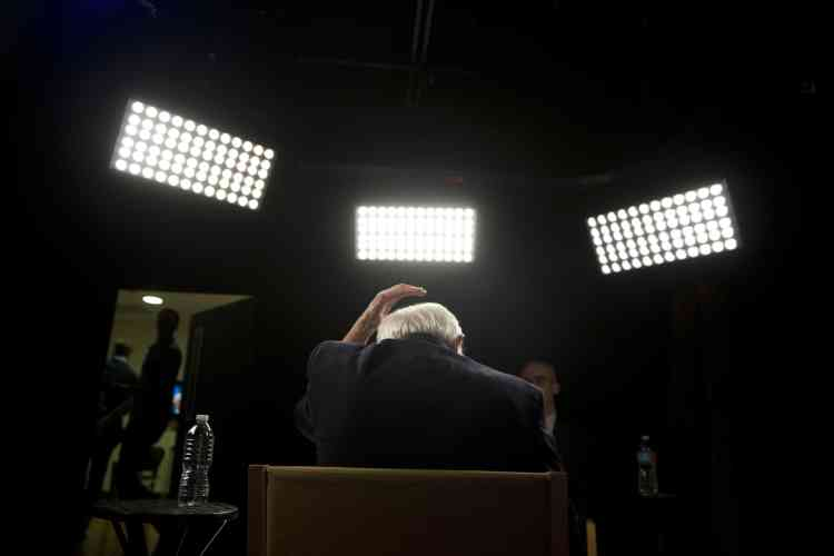 Bernie Sanders, avant un entretien avec Associated Press, le 23 mai.