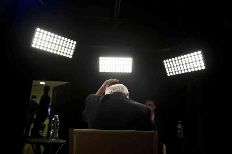 Bernie Sanders, avant un entretien avec Associated Press, le 23mai.