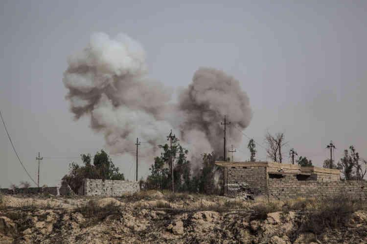 Dimanche 5 juin, une voiture piégée a explosé à quelques dizaines de mètres de la colonne irakienne.