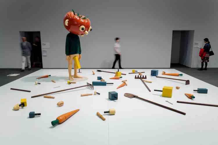 La galerie zurichoise Hauser & Wirth a déjà vendu pour 4,75 millions de dollars une installation de Paul McCarthy intitulée «Tomato Head».