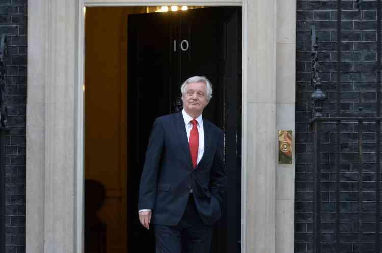 David Davis, un ancien secrétaire d'Etat à l'Europe qui a milité en faveur du Brexit, aété nommé ministre chargé d'organiser la sortie du Royaume-Uni de l'Union européenne.