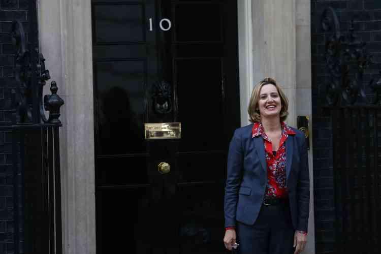 Première femme à avoir été nommée, Amber Rudd est la nouvelle secrétaire d'Etat à l'intérieur.