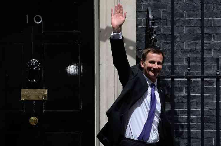 Jeremy Hunt est le nouveau ministre de la santé.