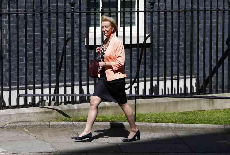 L'ancienne rivale de Theresa May, Andrea Leadsom, a été nommée secrétaire d'Etat à l'énergie.