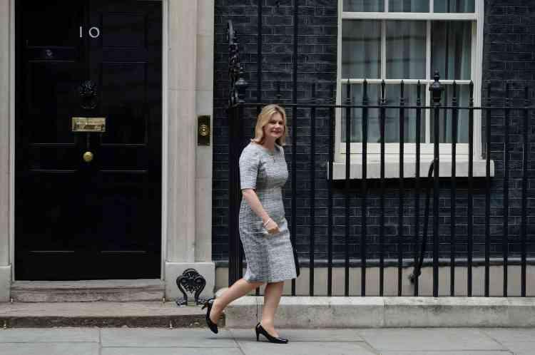 Justine Greeninga été nommée ministre de l'éducation et secrétaire d'Etat aux femmes et à l'égalité.