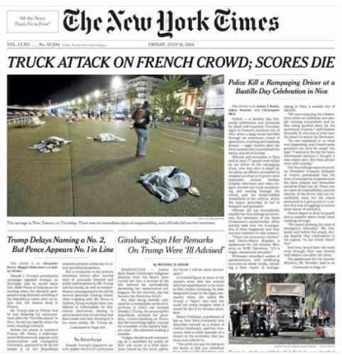 Le quotidien américain« The New Times».