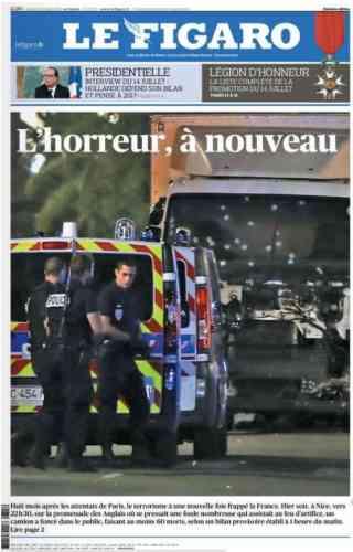 Le quotidien« Le Figaro».