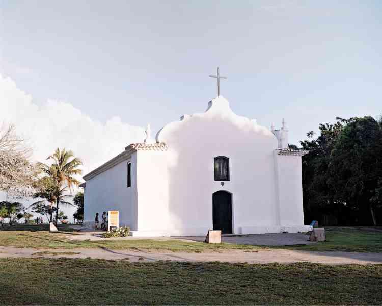 L'église blanche de Quadrado, la place emblémtique de Trancoso.