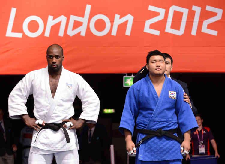C'est, pourrait-on dire, le meilleur adversaire de Teddy Riner. A chaque fois qu'il rencontre le Coréen Kim Sung-Min, le Français prend un malin plaisir à lui coller des mouvements d'anthologie. S'il rencontre une nouvelle fois Riner à Rio, le combat risque d'être encore à sens unique.