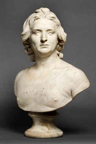 Le marquis de Gouvernet, en portrait à l'antique, exposé à Paris au salon de 1738, était dans sa nudité une nouveauté absolue pour l'époque.