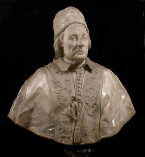 Grâce à son talent, lors de son séjour à Rome, le jeune artiste reçut des commandes prestigieuses, comme ce très beau portrait du pape Clément XII.